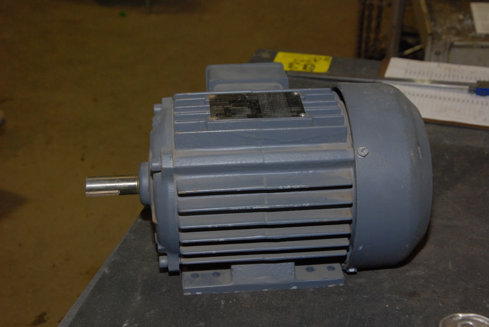 New emerson line 1 5 hp dual speed electric motor 1745 for 1 5 hp electric motor