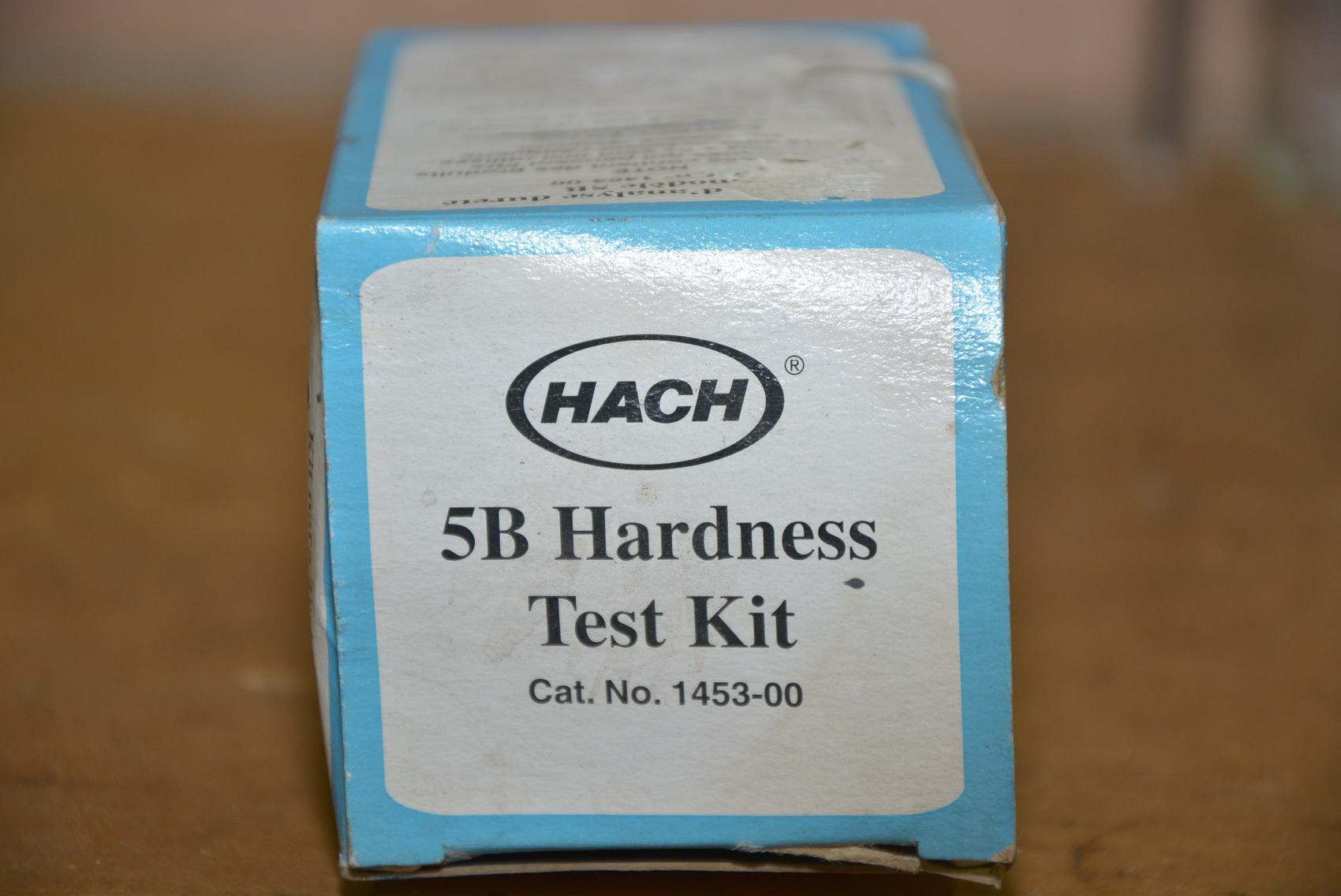 hach hardness test kit instructions