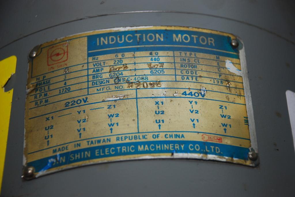 Jin Shin Motor 3 Phase Wiring Diagram