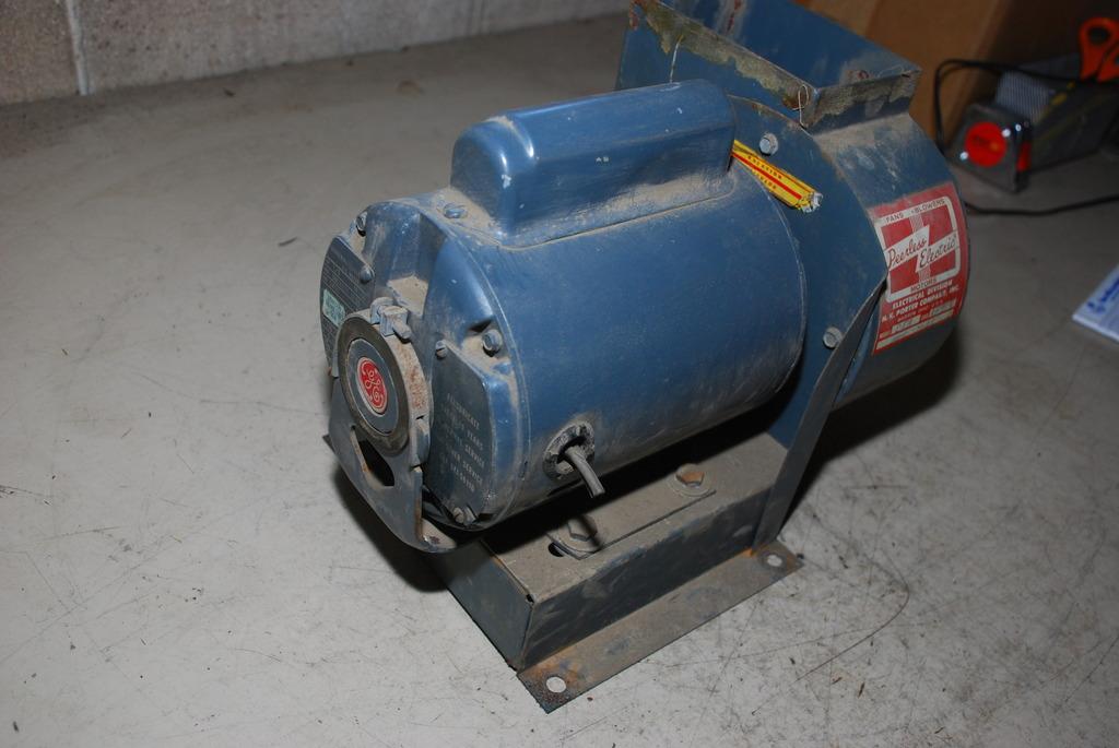Peerless Electric Blower Fan D5a W Ge Ac Motor 1 3 Hp 1