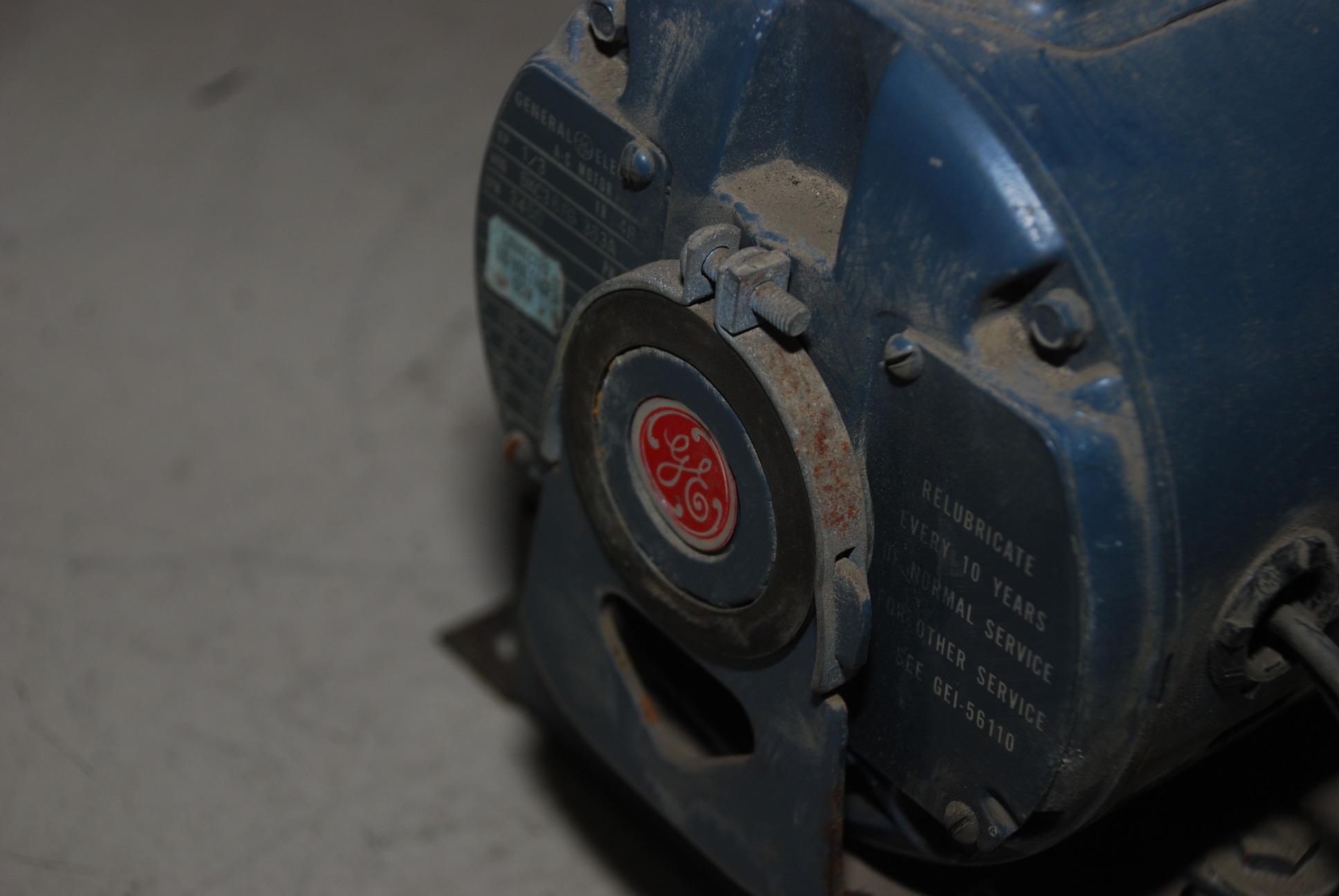 Peerless electric blower fan d5a w ge ac motor 1 3 hp 1 for 1 3 hp blower motor