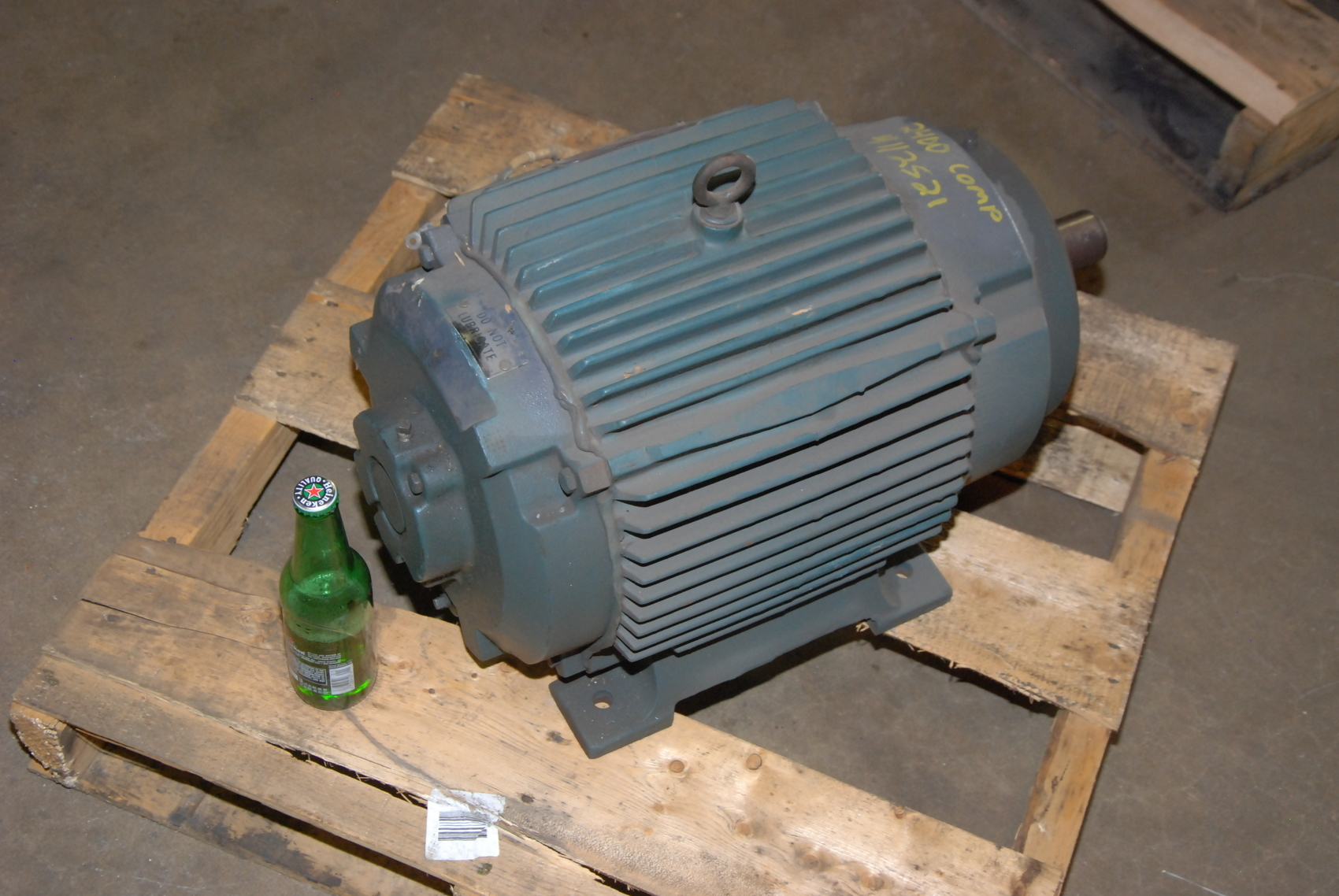 Rebuilt reliance 10hp electric motor 2maf46317 frame 256ty for 10 hp ac motor