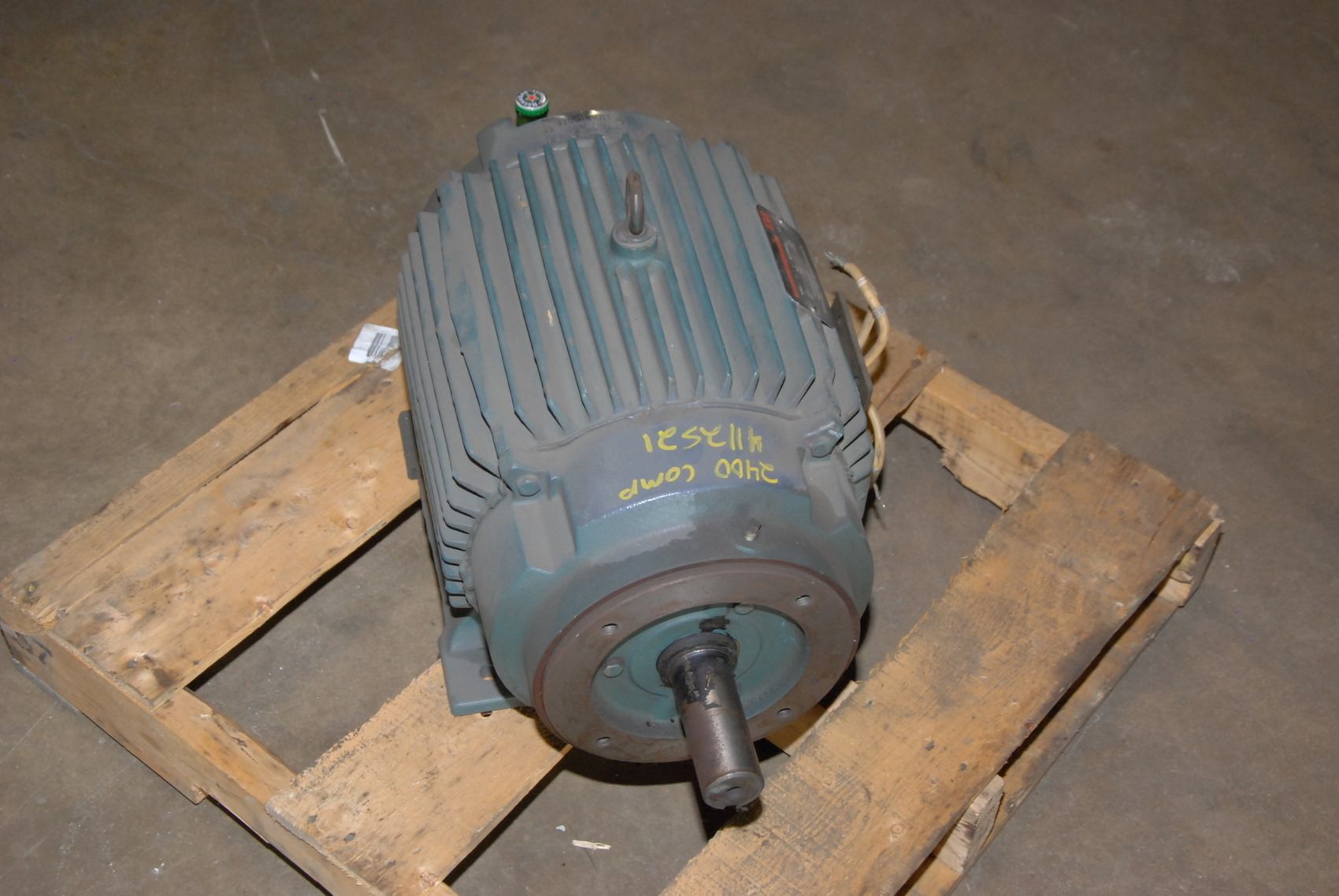 rebuilt reliance 10hp electric motor 2maf46317 frame 256ty