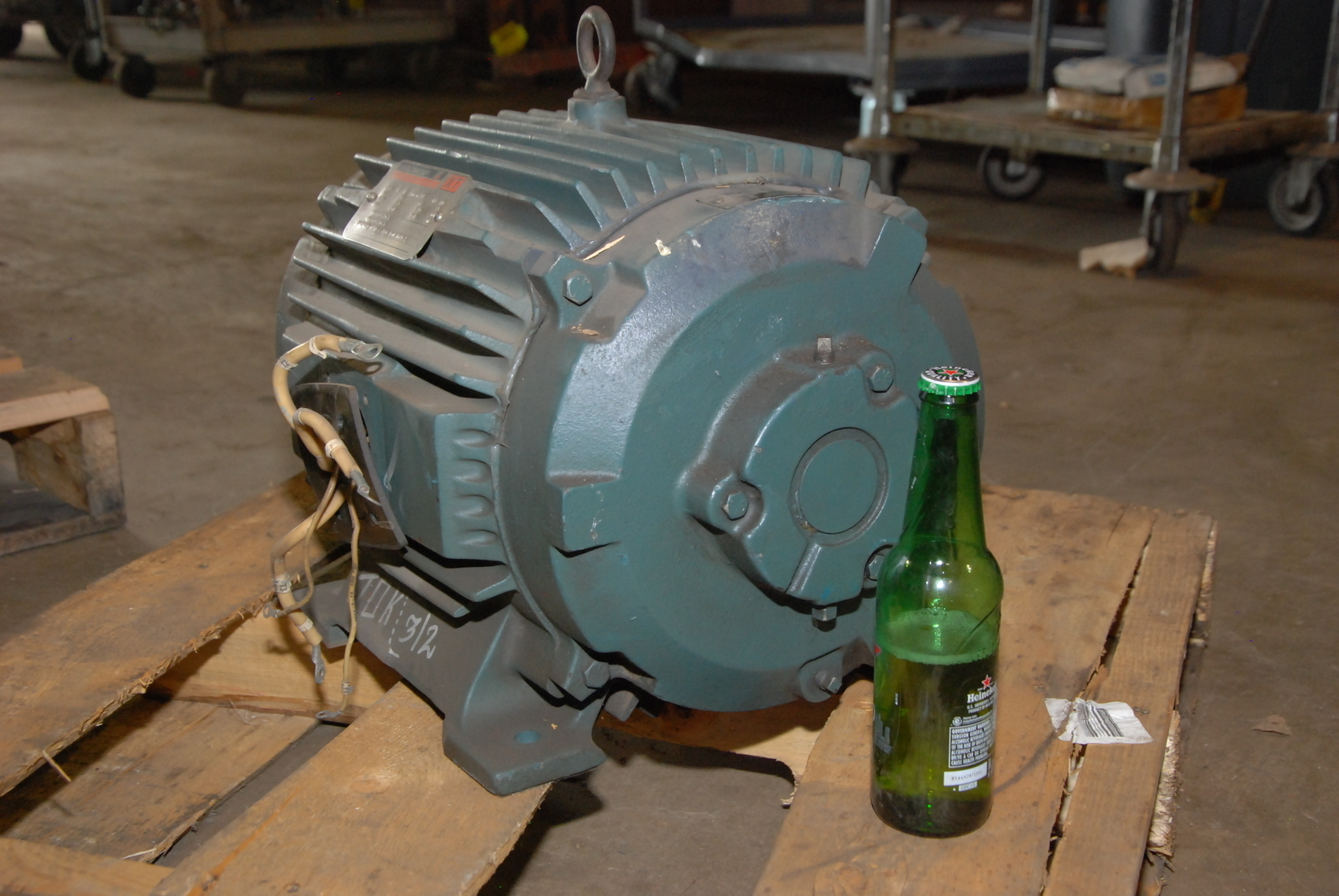 Rebuilt reliance 10hp electric motor 2maf46317 frame 256ty for Electric motor rebuilders near me