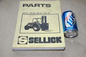 sellick forklift parts catalogue sd 50 sd 60 sd 80 sd 100 4970 rh yabe chudov com Fork Lift Sellick S80 Manual Sellick Fork Lift