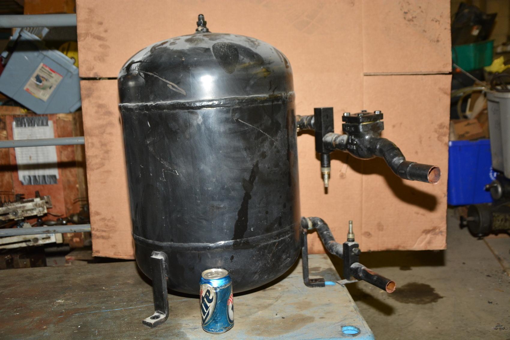 Standart Compressed Air Refrigeration Accumulator Tank 400