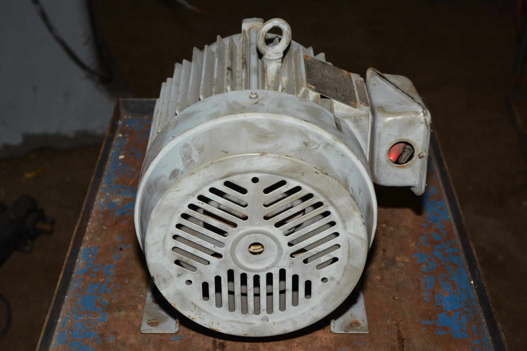 Sterling Electric 5 Hp 3 60 230 460v 3 490 Rpm Ac Motor