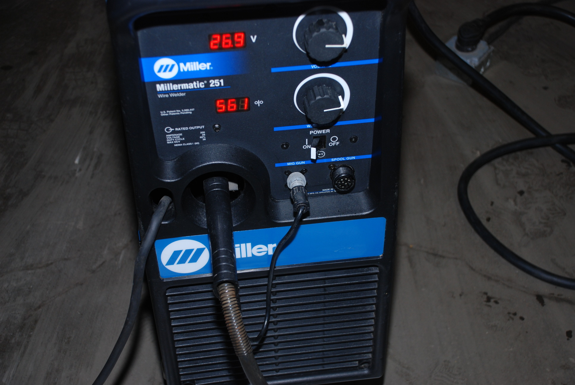 Millermatic 210 mig welder used ebay autos post - Webaccess leroymerlin fr ...