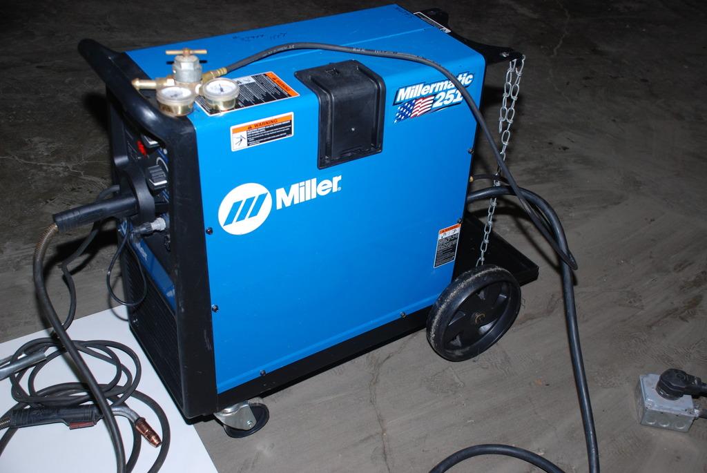 Miller 251 Spool Gun Hook Up