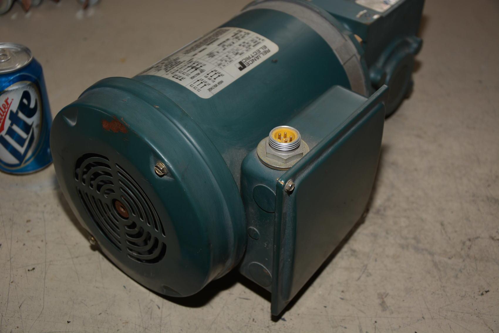 Tigear Gear Motor Reliance Electric 1 2 Hp Ac Gearmotor 1