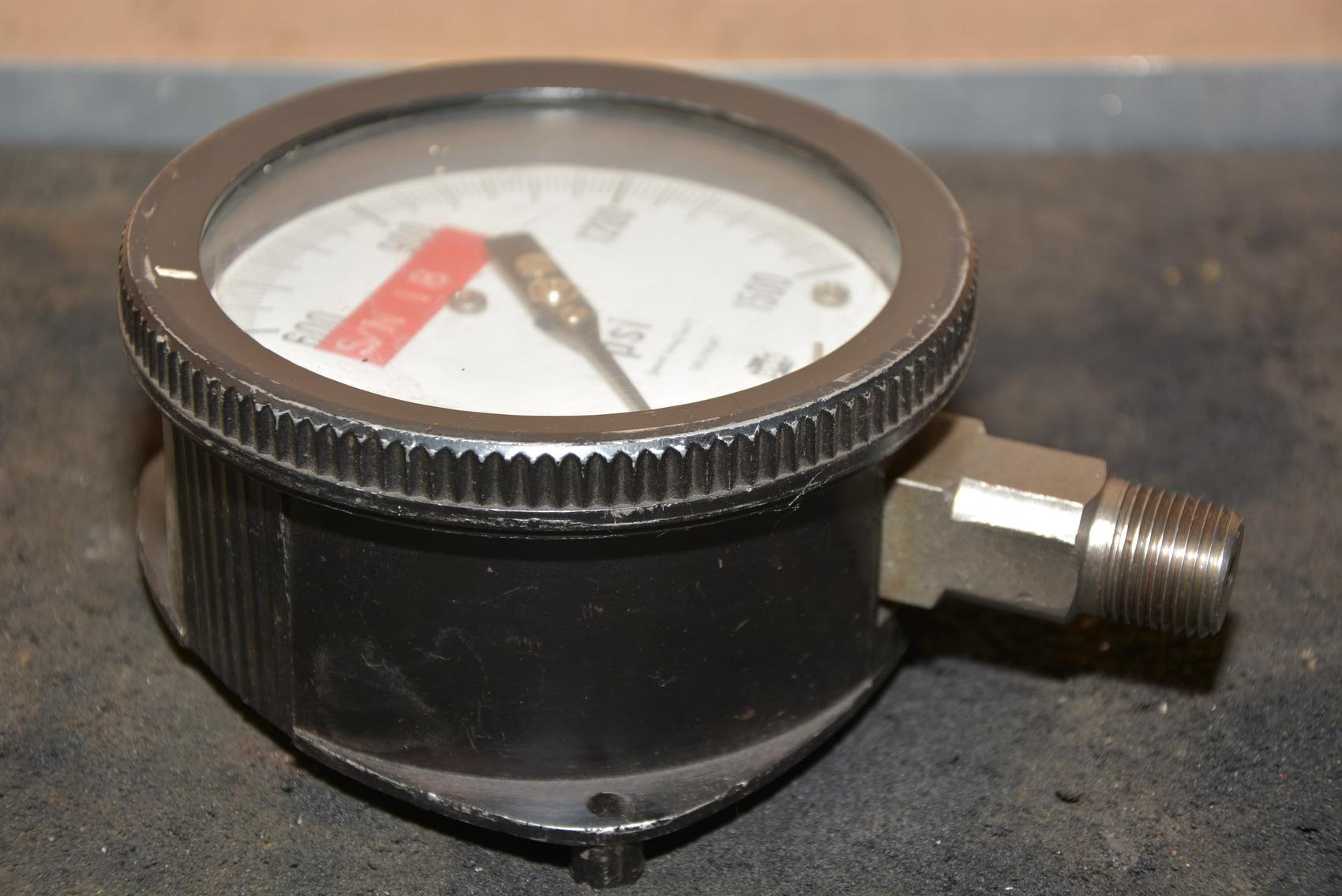 U.S.Gauge Co.(USG)1,500 PSI Pressure Gauge,Made in USA INV ...