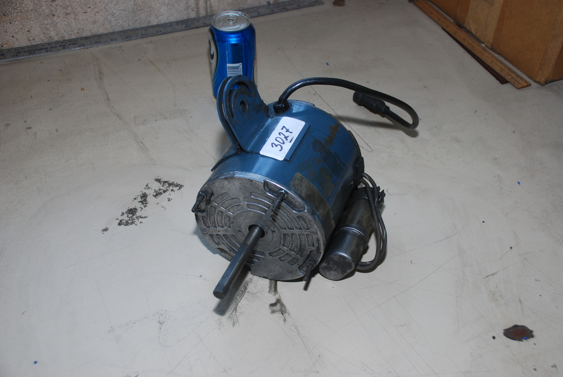 Used Fasco 1 3 Hp Industrial Floor Fan Motor Inv 3027 Ebay