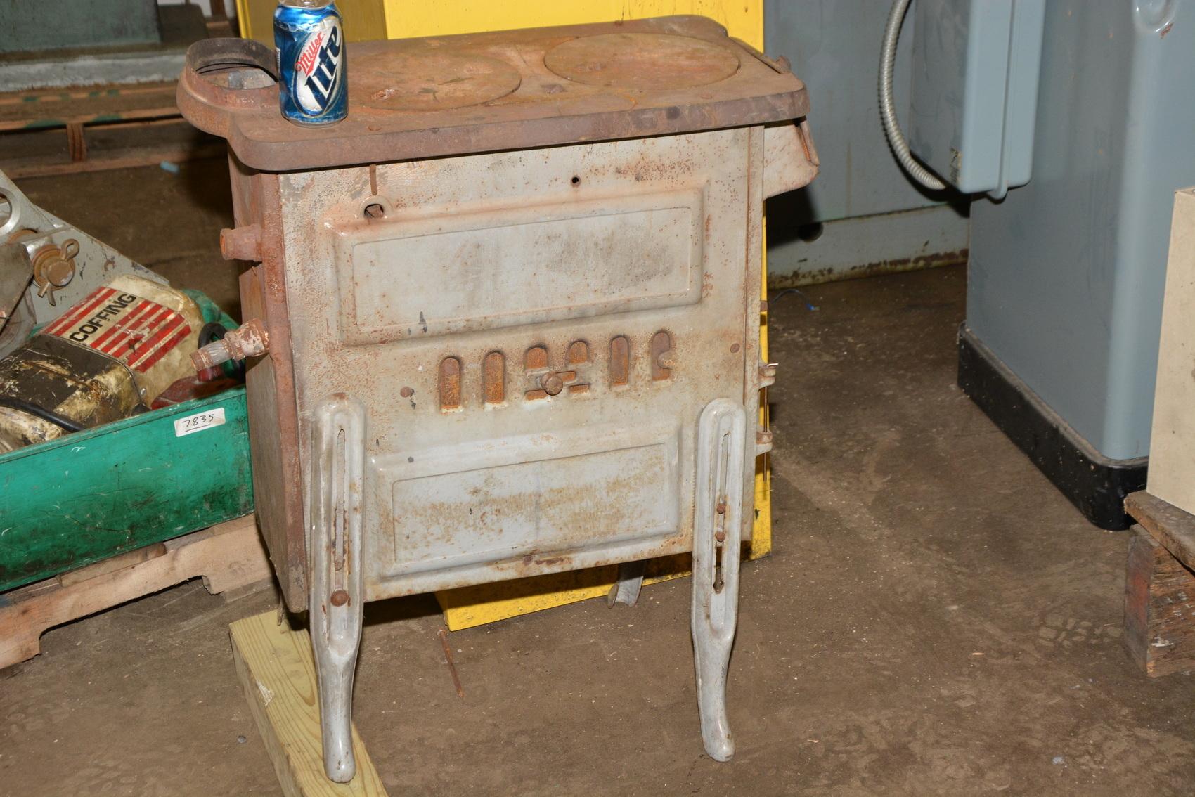 Wood Stove Griddle ~ Vintage antique wood stove top cooking griddle burner l a
