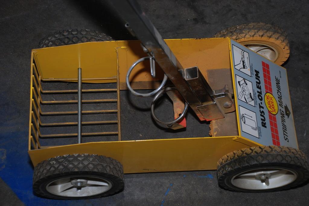 rustoleum paint striping machine